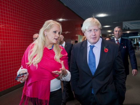 Ex-model in Boris scandal says she 'makes men trip over their d**ks'