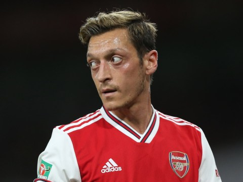 Mesut Ozil insists he'll see out Arsenal contract despite struggles under Unai Emery