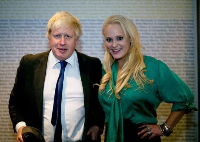 Boris Johnson and Jennifer Arcuri at the Innotech Hacking and data conference Bafta, London, UK - 14 Oct 2014