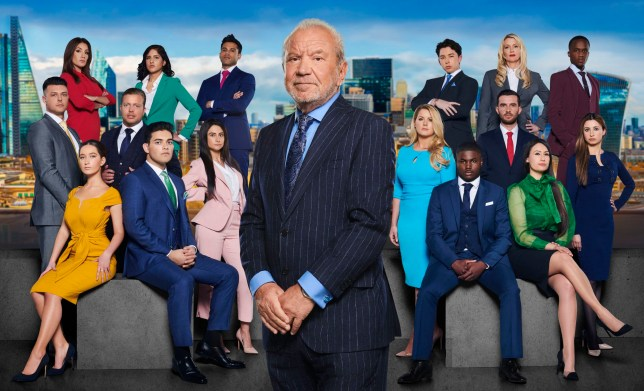 Lord Alan Sugar and The Apprentice school of 2019