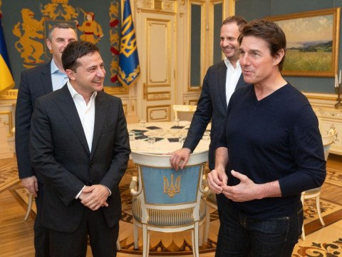 Tom Cruise jokes his handsome looks 'pays the rent' after compliment from Ukrainian president