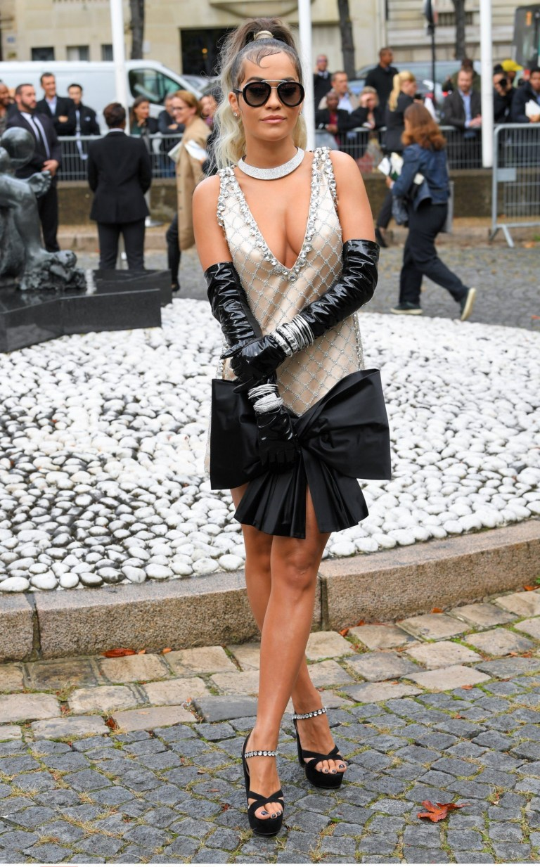 ) Rita Ora Miu Miu show