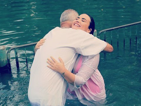 Demi Lovato baptised 'in the same river as Jesus' as she opens up on religious beliefs