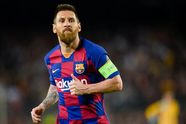 Lionel Messi and Barcelona were forced to stage a comeback against Inter in the Champions League