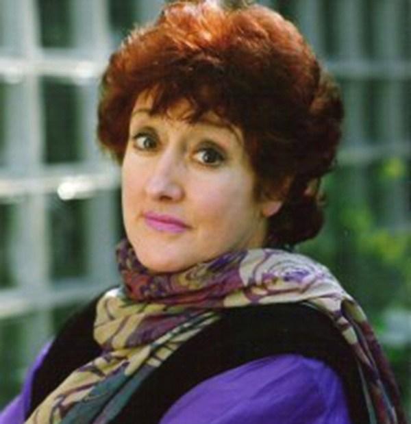 Anna Quayle as Mrs Monroe (Picture: BBC)