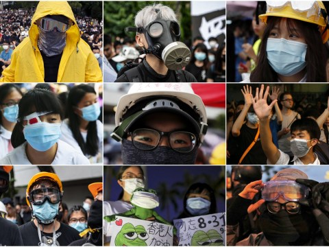 Face masks banned in Hong Kong to try and stop democracy protests