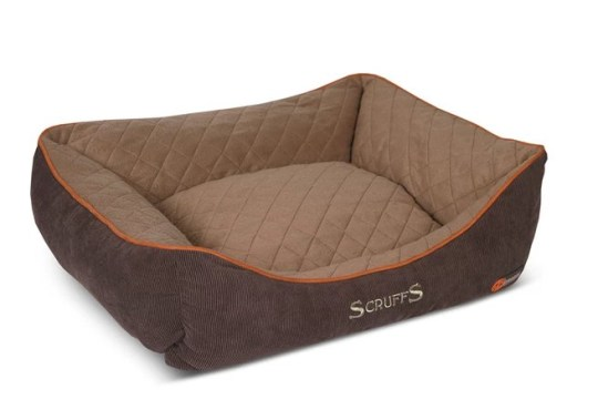 Scruffs heated dog bed