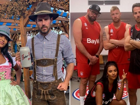 Maya Jama shoots hoops with Jamie Redknapp for League Of Their Own as fans hope for new romance