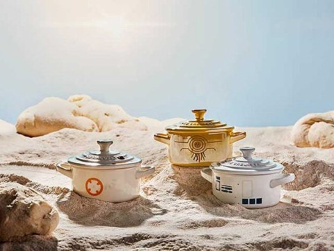 Le Creuset is dropping a Star Wars cookware collection