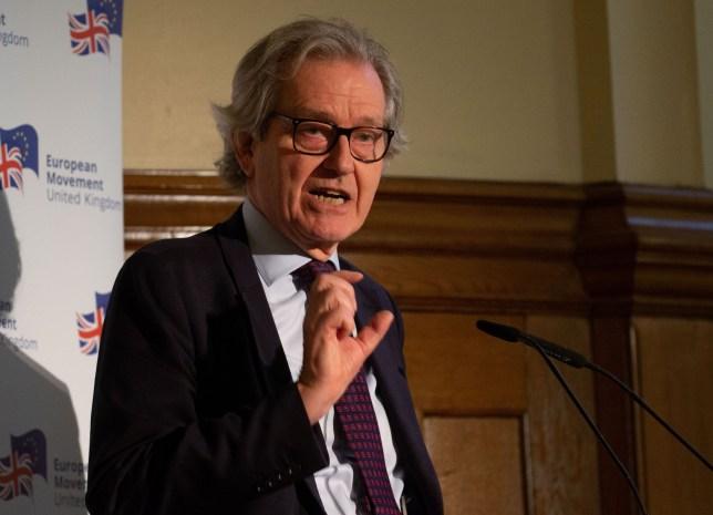 Stephen Dorrell gives a speech on the future of British politics