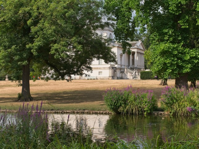 Chiswick House, near to where Abi Oliver was found dead.