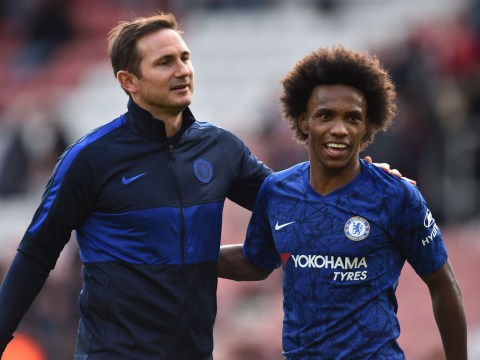 Frank Lampard pays special tribute to Willian after Chelsea's win over Southampton