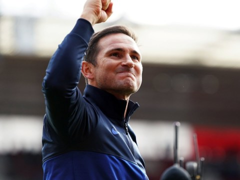 Chelsea boss Frank Lampard increasingly confident of top four finish