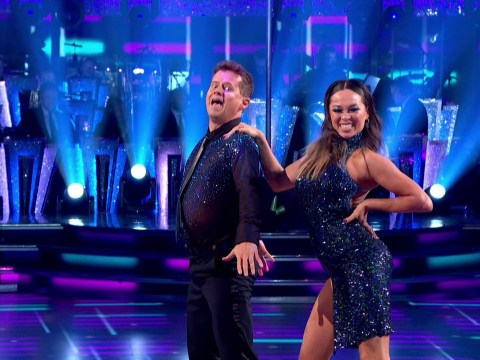 Secret Strictly conversations revealed as Katya Jones crashed to ground twice in live dance routine