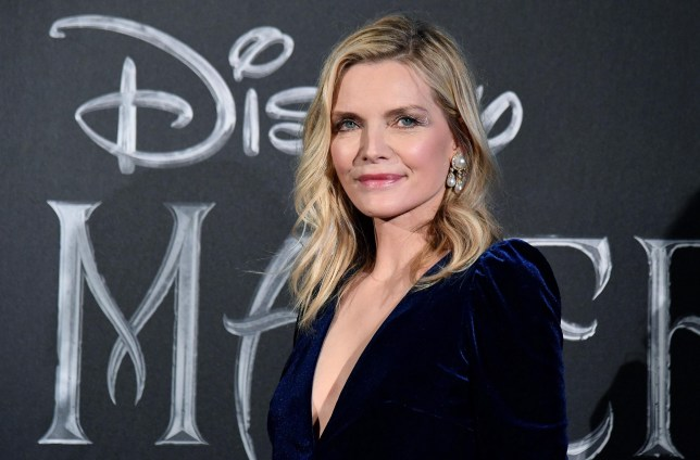epa07904445 US actress/cast member Michelle Pfeiffer poses during the European premiere of 'Maleficent: Mistress of Evil' at the Auditorium della Conciliazione in Rome, Italy, 07 October 2019. The movie opens in Italian theaters on 17 October. EPA/ETTORE FERRARI