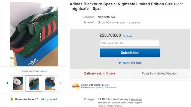Adidas Blackburn SPEZIAL (Picture: Ebay)