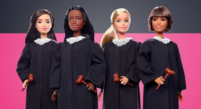 Judge Doll Barbies
