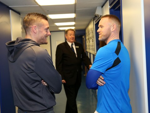 When will Wayne Rooney and Jamie Vardy come face to face on the football pitch next?