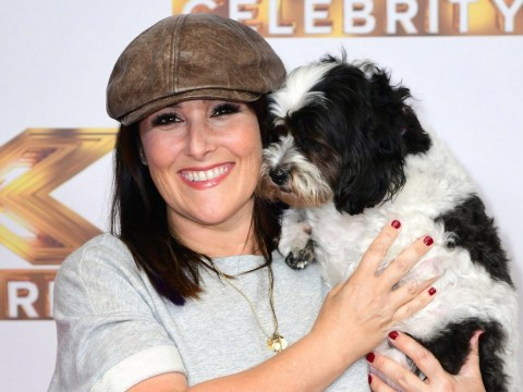 Ricki Lake upstaged by her adorable dog as stars come out for The X Factor Celebrity launch