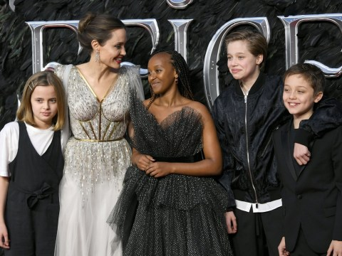 Angelina Jolie thanks kids for getting her through 'difficult years' in wake of Brad Pitt split