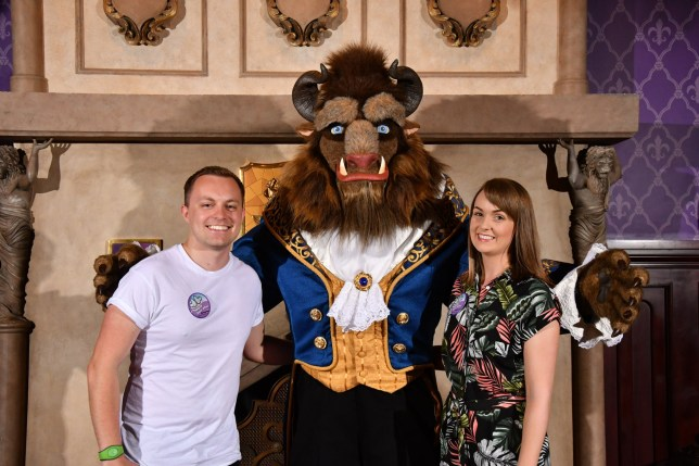 Bride spends £17,000 on Disney themed wedding after husband proposes at Disney World
