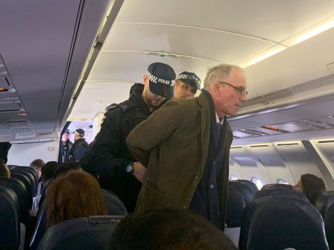 Climate activist removed from flight after refusing to sit down for take-off