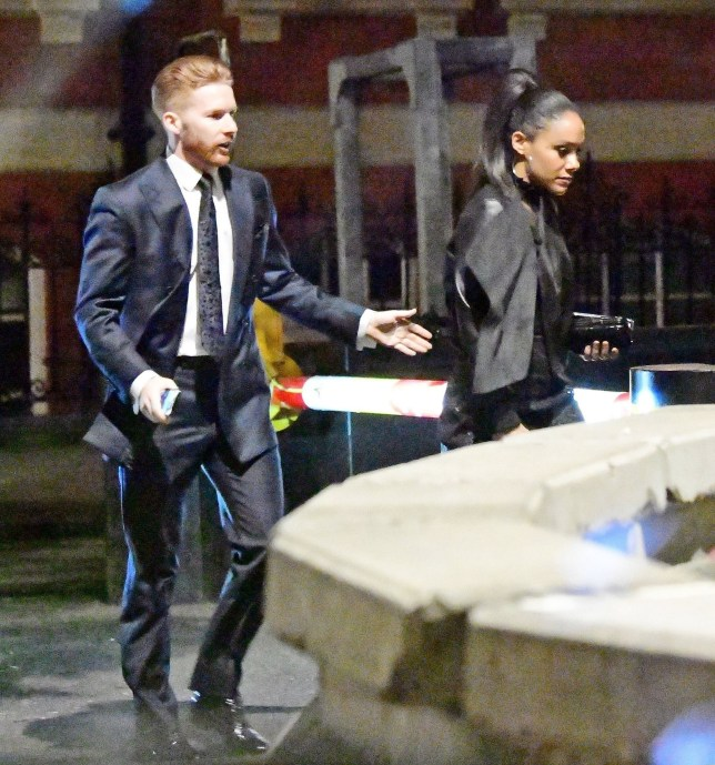 Strictly Come Dancing pair Neil Jones and Alex Scott