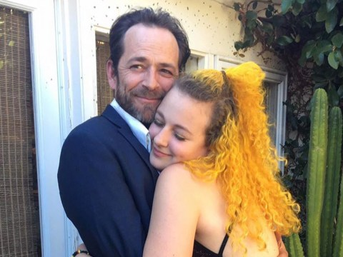 Luke Perry's daughter Sophie shares sweet birthday tribute to late Riverdale star