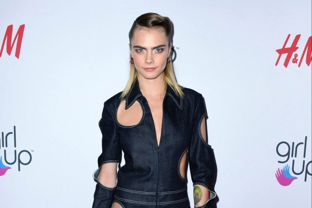 BEVERLY HILLS, CALIFORNIA - OCTOBER 13: Cara Delevingne attends the 2nd Annual Girl Up #GirlHero Awards at the Beverly Wilshire Four Seasons Hotel on October 13, 2019 in Beverly Hills, California. (Photo by Jon Kopaloff/Getty Images,)