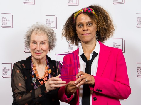 First black woman to receive Booker Prize describes joint win as 'bittersweet'