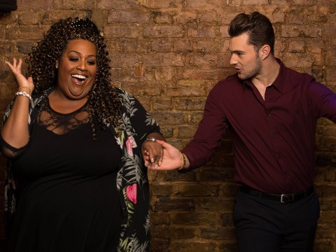 Alison Hammond learns a move or two from Love Island star Curtis Pritchard