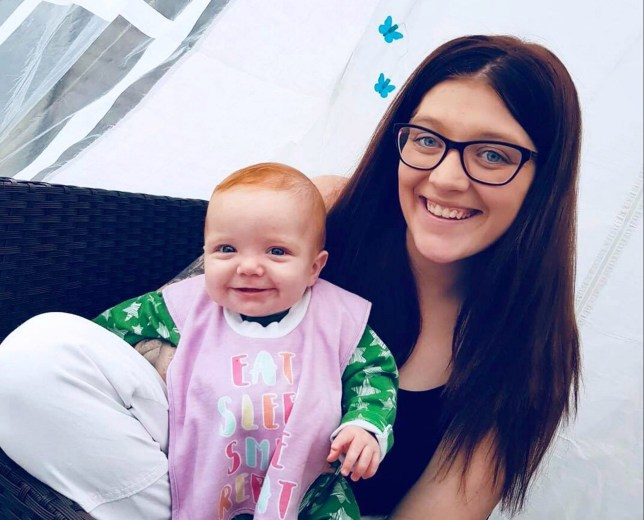 PIC BY CATERS NEWS (PICTURED Young mum Charley 22 (RIGHT) and Wynter 10 months (LEFT)) A mum-of-two has slammed rude strangers who gave her disgusted looks after cellulitis left her daughter with a BLACK EYE. Charley Finch, 22, was woken up at 3am by her five-month-old daughter, Wynter, sobbing in her bedroom. Assuming she was just hungry, the stay-at-home mum went to make her a bottle when she noticed the left side of her daughters face was swollen. SEE CATERS COPY.
