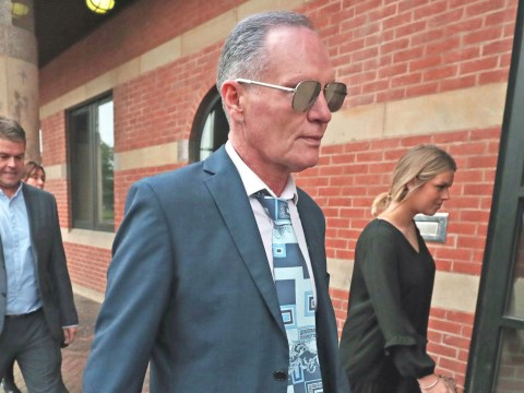 Gazza said he sounded slurred on train because he'd removed his false teeth