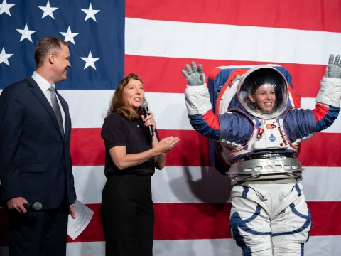Nasa unveils new spacesuit prototype for a return to the moon