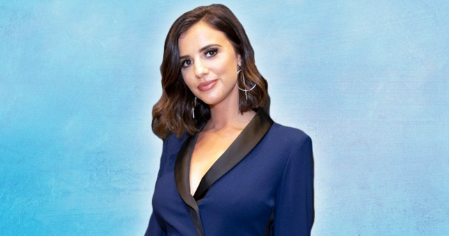 LONDON, ENGLAND - OCTOBER 14: Lucy Mecklenburgh attends the launch of Pronovias 2020 collection; Pronovias is delighted to introduce #PronoviasTalks on October 14, 2019 in London, United Kingdom. (Photo by John Phillips/Getty Images for Pronovias 2020 )