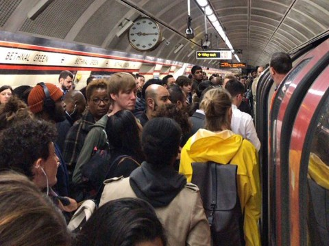 Tube station evacuated because someone got their bag stuck in door