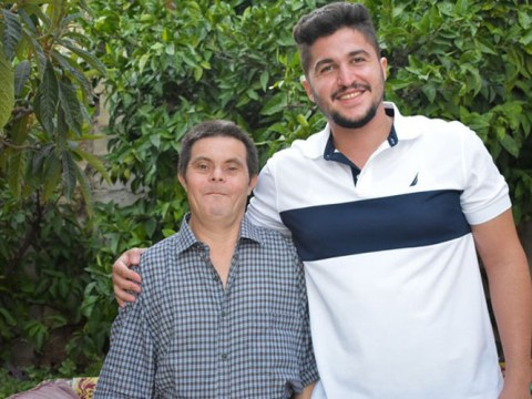 Syrian man shares what it was like to be raised by a dad with Down's syndrome