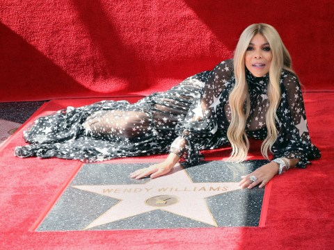 Wendy Williams tears up as she receives Hollywood Walk of Fame star after 'very tough year'