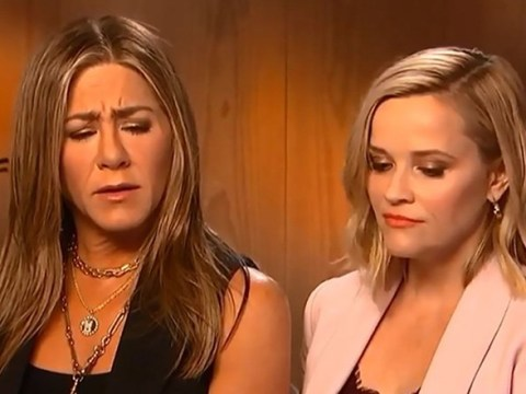 Jennifer Aniston and Reese Witherspoon recreate iconic Friends scene and it's everything