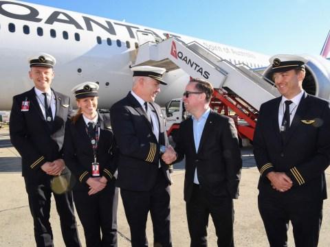 Longest ever non-stop commercial flight to Australia lands after 19 hours