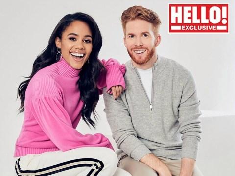 Alex Scott and Neil Jones break silence over Strictly romance rumours