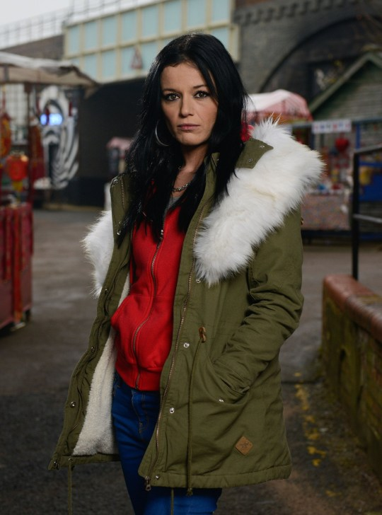 Programme Name: EastEnders - Portraits 2018 - TX: n/a - Episode: EastEnders - Hayley Slater (No. n/a) - Picture Shows: Hayley Slater (KATIE JARVIS) - (C) BBC - Photographer: Kieron McCarron