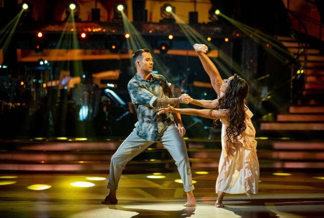 For use in UK, Ireland or Benelux countries only Undated BBC handout photo of Will Bayley and Janette Manrara during the BBC1 dance contest, Strictly Come Dancing. PA Photo. Issue date: Sunday October 20, 2019. See PA story SHOWBIZ Strictly. Photo credit should read: Guy Levy/BBC/PA Wire NOTE TO EDITORS: Not for use more than 21 days after issue. You may use this Issue without charge only for the purpose of publicising or reporting on current BBC programming, personnel or other BBC output or activity within 21 days of issue. Any use after that time MUST be cleared through BBC Issue Publicity. Please credit the image to the BBC and any named photographer or independent programme maker, as described in the caption.