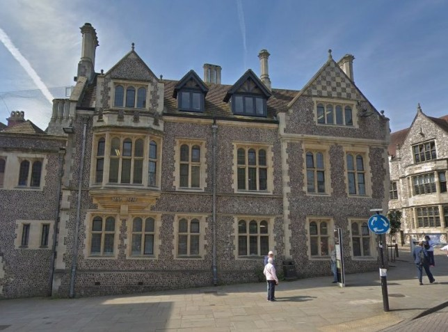 The inquest took place at Winchester Coroner's Court (Picture: Google)