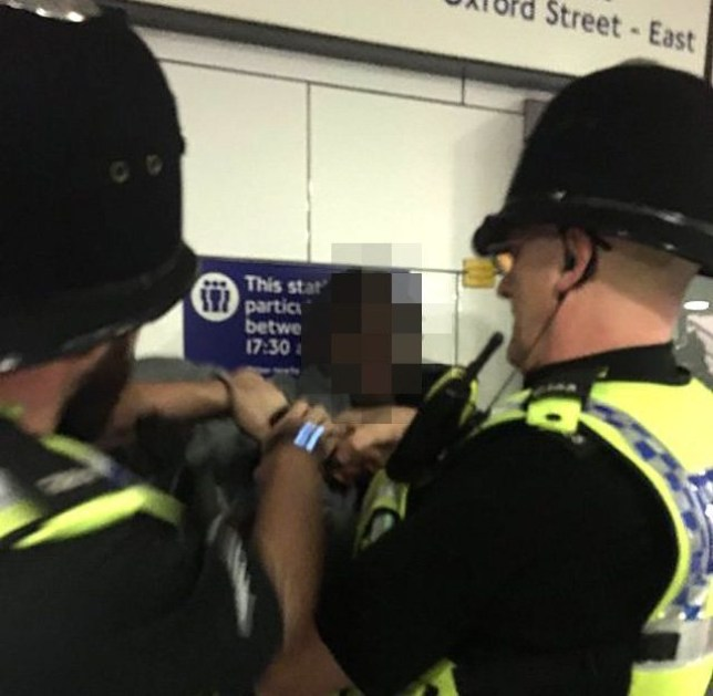 Boy arrested for not tapping out Picture; supplied to metro.co.uk METROGRAB EXCL