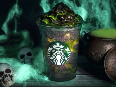 Starbucks is releasing a vegan black Phantom Frappuccino for Halloween, and it's available in the UK