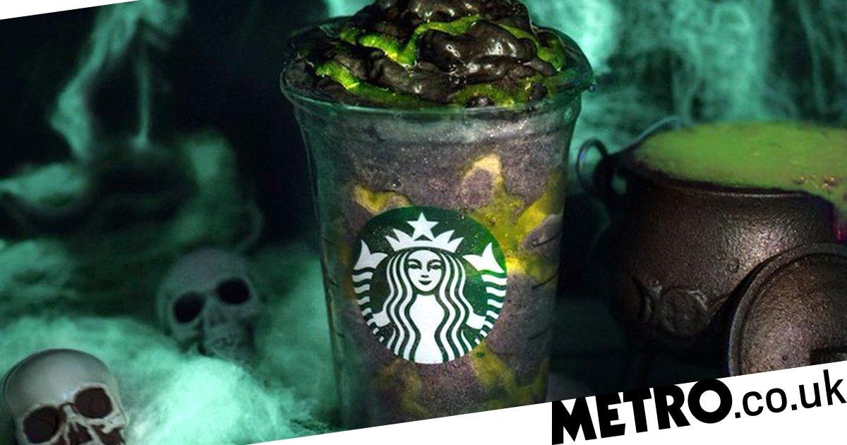 Starbucks Is Releasing A Vegan Black Phantom Frappuccino For