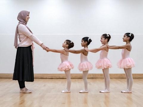 This ballet school for Muslim kids uses poetry instead of music