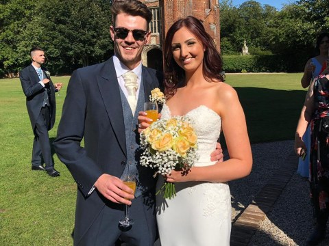 One of UK's youngest terminal breast cancer patients has beautiful 'bucket list' wedding