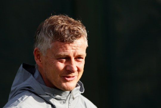 Soccer Football - Europa League - Manchester United Training - Aon Training Complex, Manchester, Britain - October 23, 2019 Manchester United manager Ole Gunnar Solskjaer during training Action Images via Reuters/Jason Cairnduff